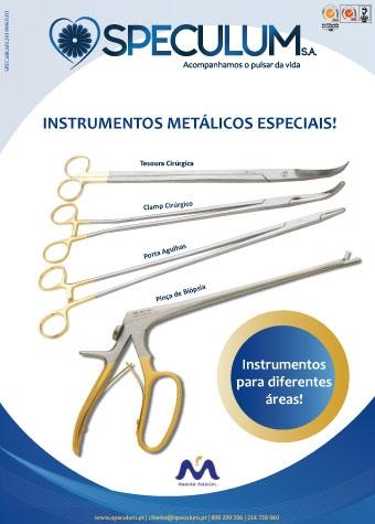 Instrumentos Metálicos Especiais!