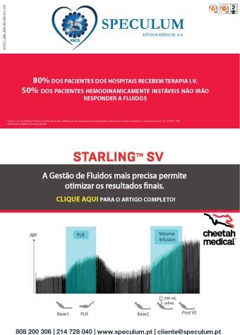Evolução da Gestão de Fluidos: STARLING SV