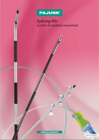 Catálogo PAJUNK - Epidural