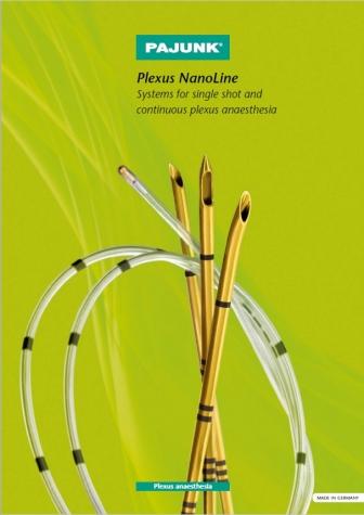 Catálogo PAJUNK - Neuro Estimulação Plexus