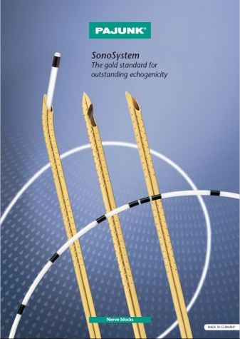 Catálogo PAJUNK - Sonografia Plexus Contínua